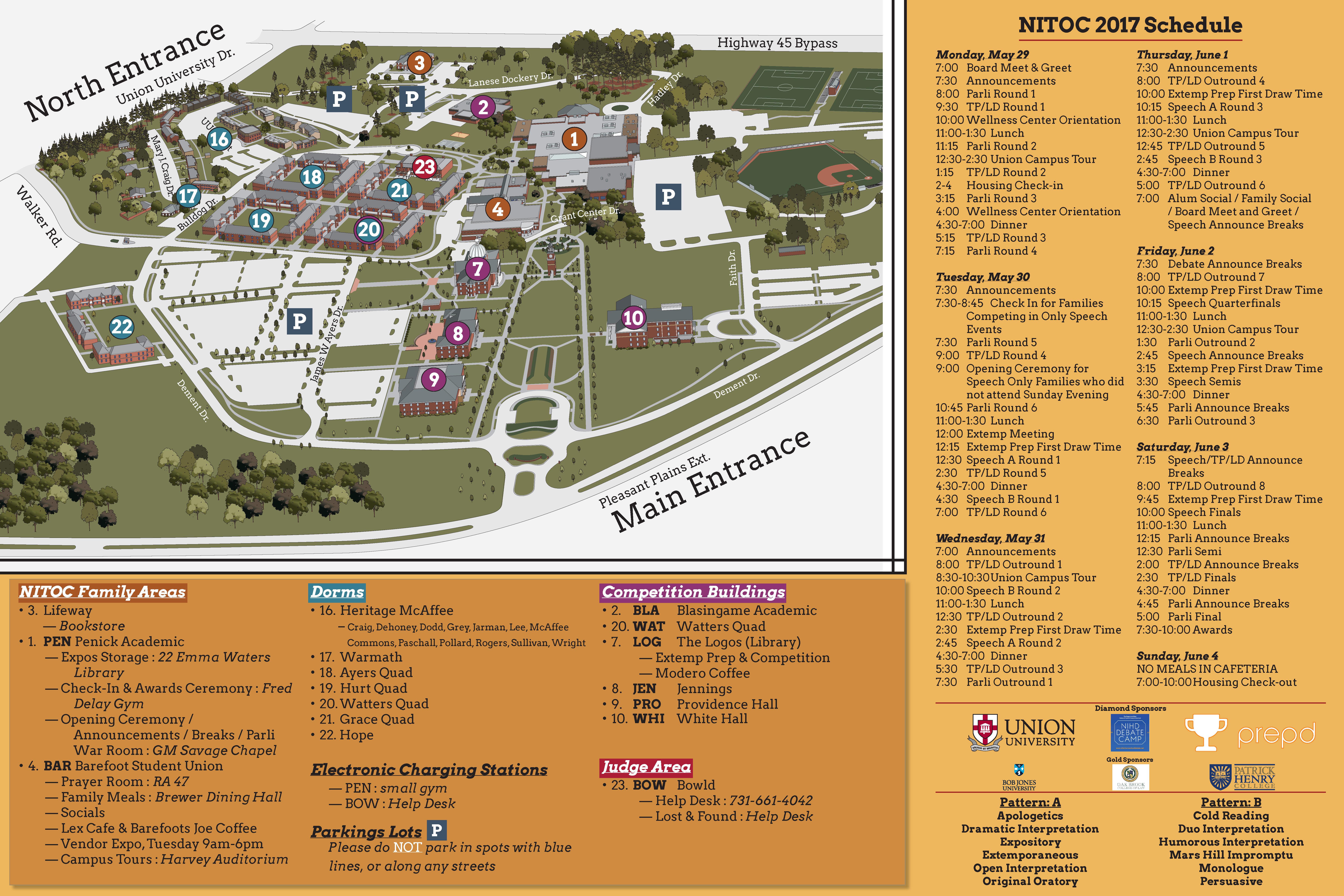 Oc Campus Map.Nitoc 2017
